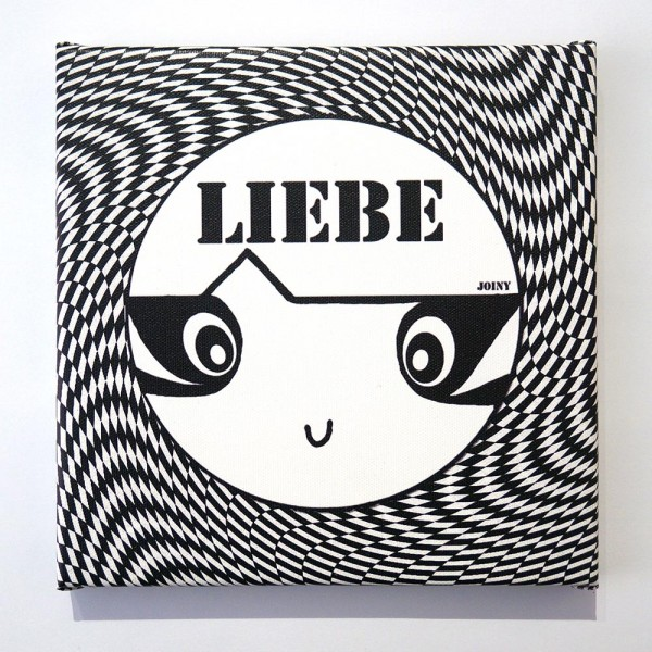"Joiny: ""Liebe""  - Digital print on canvas"