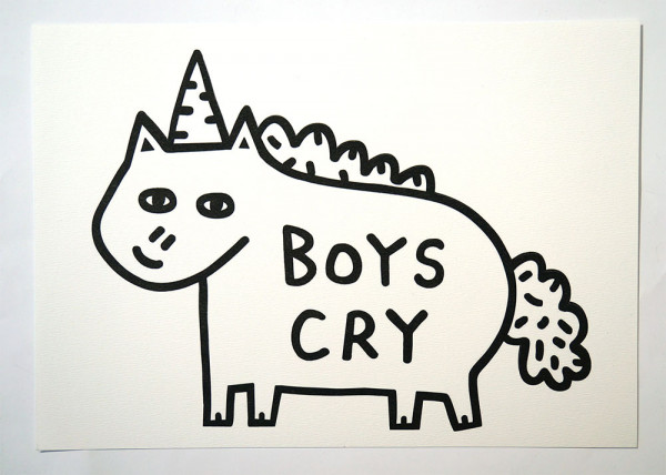 "Roydraws: ""Boys Cry"" - Print - salzigberlin"