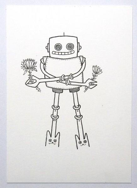 "Rabea Senftenberg: ""Robot IV"" - Gallery Salzig Berlin"