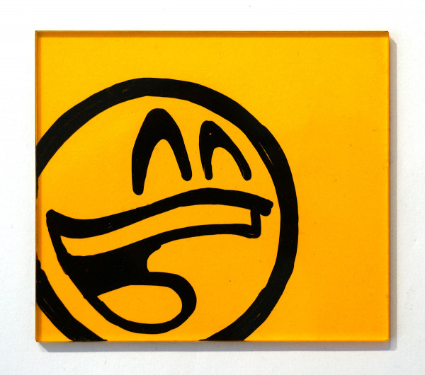 "Mein lieber Prost: ""Yellow Acryl"" - Artwork - SALZIG BERLIN Streetart Gallery"