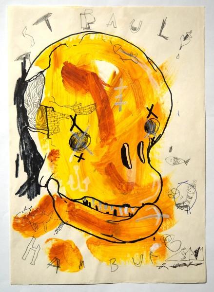 "Sam Crew aka John Reaktor: ""St. Pauli Hamburg"" - Art de Rue - SALZIGberlin"