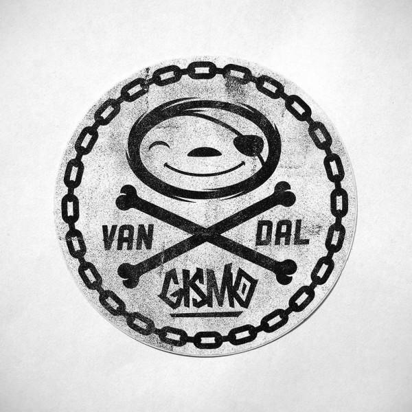 "Gismo: ""VANDAL Slothy"" - Sticker - 10,4 x 7,3cms at SALZIG-Berlin"