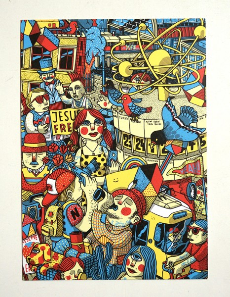 Alexanderplatz - Postkarte A6