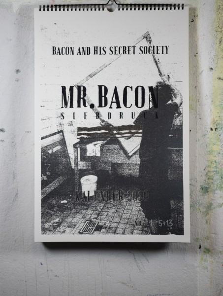 Mr. Bacon Siebdruck - Kalender 2020