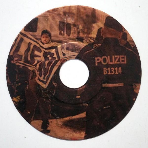 """LIEB SEIN: """"record"""" - Streetart Hamburg - SALZIG Berlin"""