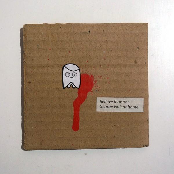 Rabea Senftenberg George Ii Cardboard Salzig