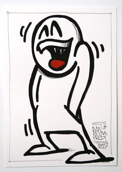 """Mein lieber Prost: """"Hands in Pocket"""" - Artwork - SALZIG BERLIN Gallery"""