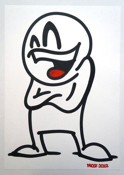 Mein lieber Prost: Prostie I - Artwork - SALZIGBERLIN Gallery