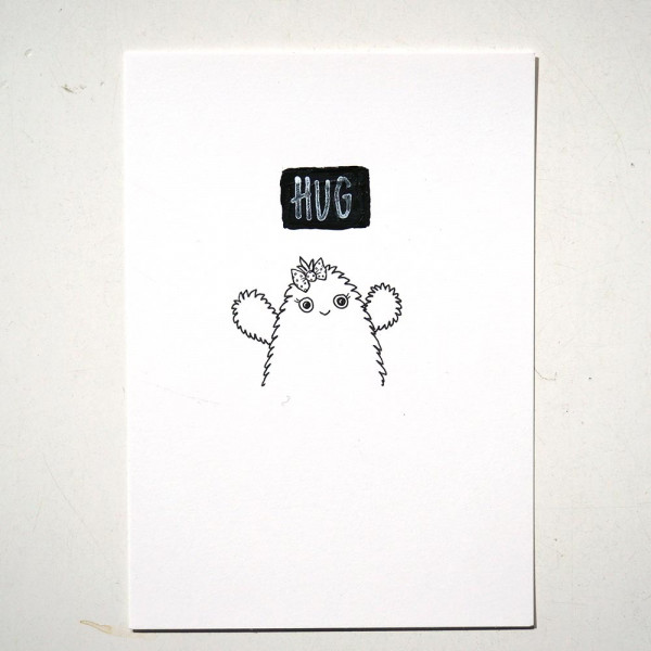"Rabea Senftenberg: ""Hug"" - SALZIGberlin - Streetart Galerie"