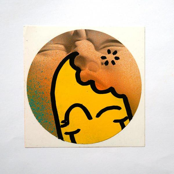"""Señor Schnu: """"Handmade Sticker 8"""" - SALZIG, Streetart Galerie in Friedrichshain"""