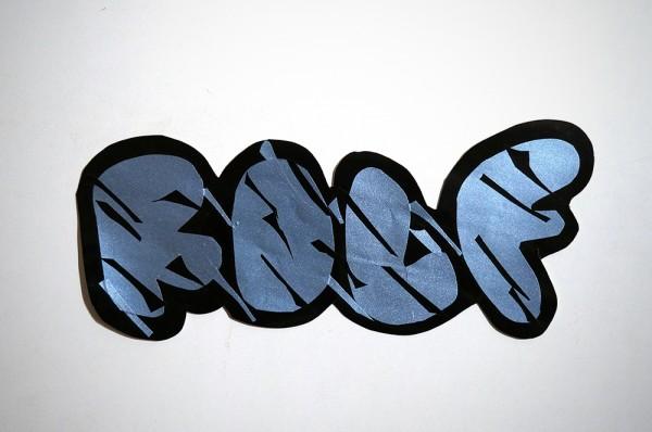 "ROLF LE ROLFE: ""Silver"" - Handcut Sticker"