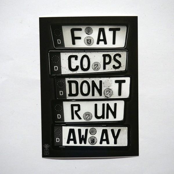 "MaraCooya: ""Fat Cops Dont Run Away"""