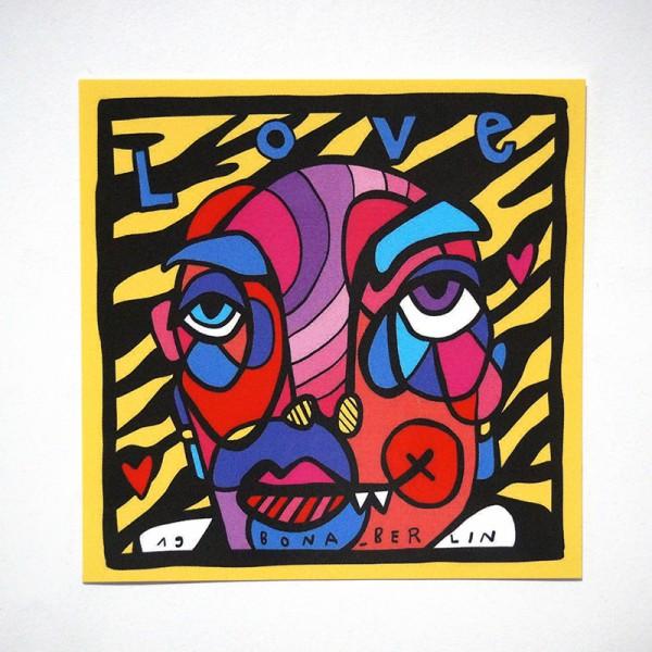 Bona: Love - Sticker - SALZIG Berlin
