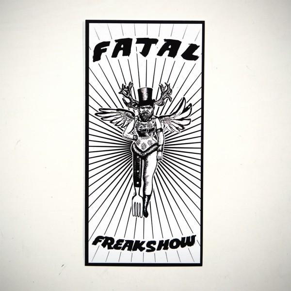 Fatal Freakshow - Sticker - Aufkleber