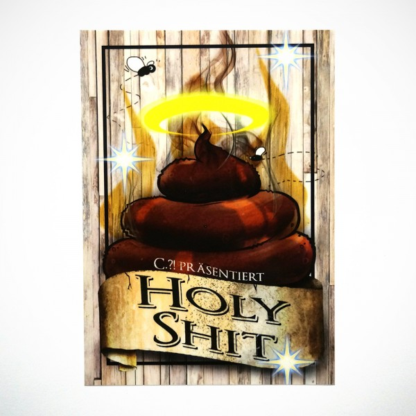"Chuk: ""Holy Shit"" - Sticker"