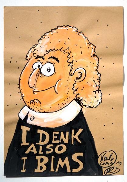 "Keule aka John Reaktor: ""I Denk Also I Bims"" - Hommage to René Descartes"