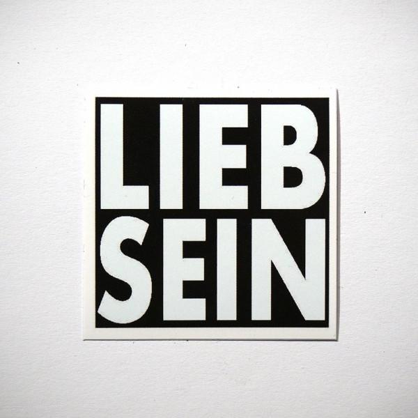"""LIEB SEIN: """"Konkret"""" - Sticker"""