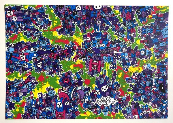"""Angry Koala: """"Poison Moyson"""" - 20 cm x 28 cm / Sticker"""