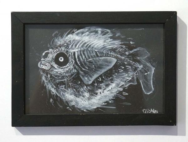 """Glönn: """"Blobfish - Inktober """" - salzig berlin galerie"""
