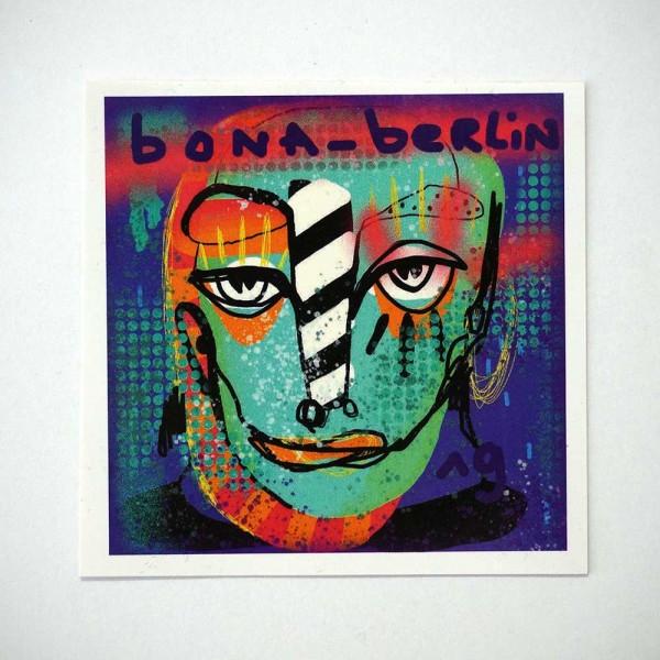 Bona - Berlin - Sticker - at SALZIG Berlin in Friedrichshain