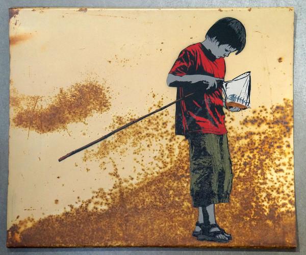 Alias: Fishing - SALZIGBerlin - Streetart Gallery Fhain