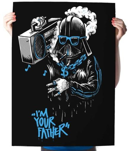 Yack Fou: Darth Gangster - Poster A2
