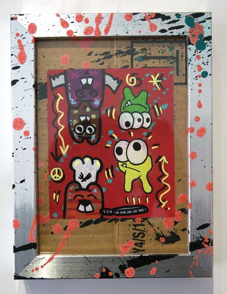 "Angry Koala & HKDNS: ""Upside Down"" - Collaboration Artwork"