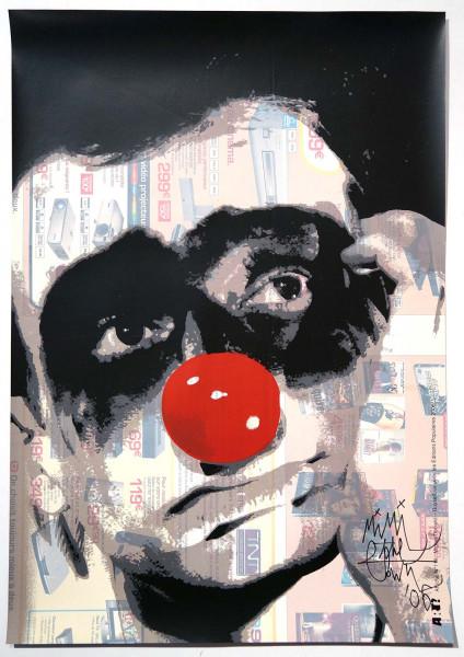 "Mimi the ClowN: ""Capitalisme Mon Amour - 118"" detail - SALZIG berlin - Signature"