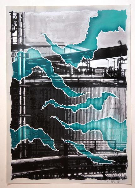 Fatal: Kraftwerk - Türkis - @salzigberlin