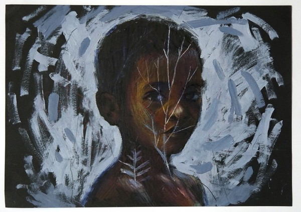 """Guido Palmadessa: """"Los Pueblos - 9"""" - artwork"""