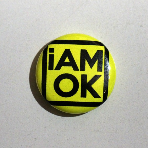iAMOK Yellow 1 - Button