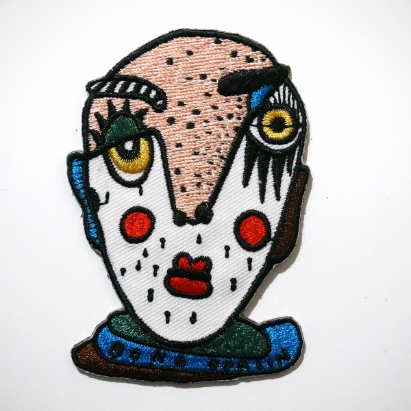 "Bona Berlin: ""Head II"" Patch - 8 x 5 cm"