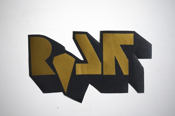 "ROLF LE ROLFE: ""Gold"" - Handcut Sticker"