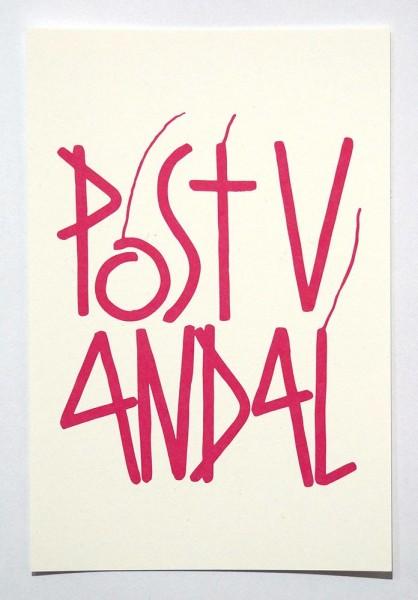 "SP 38: ""Postvandal""  - Postcard - SALZIG Berlin"