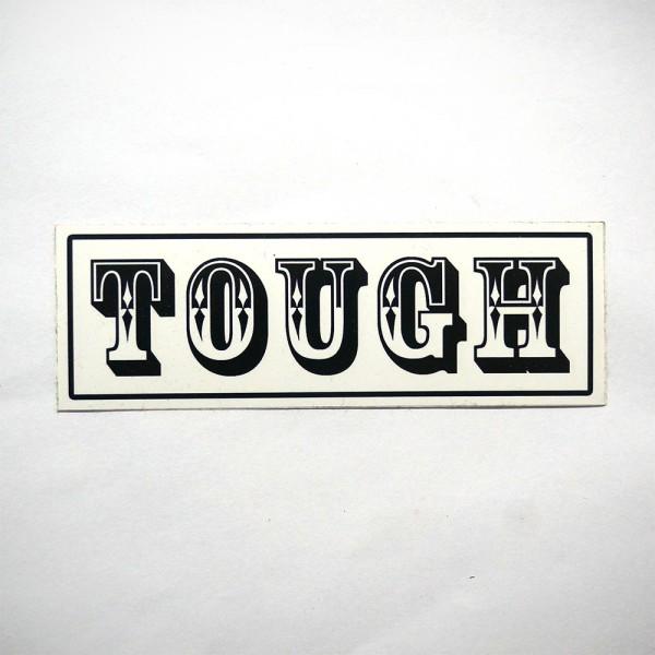 Tough: Black - Sticker