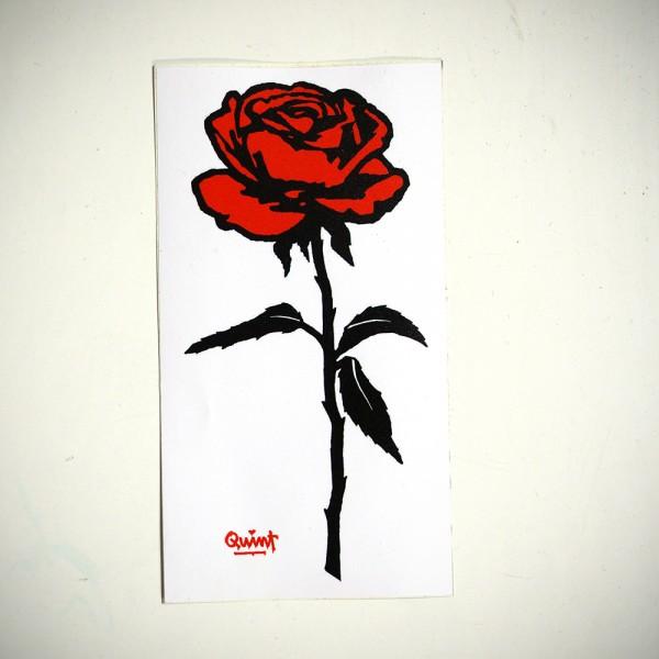 "Quint: ""Rose"" - Sticker"