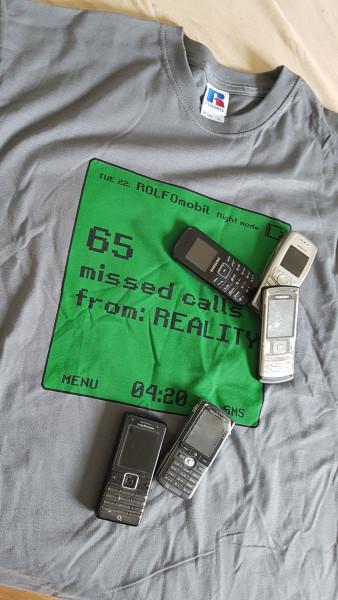 "Rolf - ""Reality"" - T-Shirt at SALZIG.Berlin"
