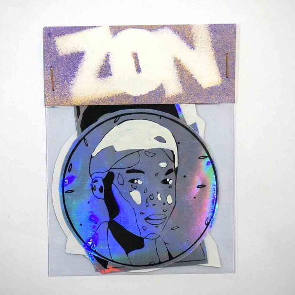 "Zon: ""Holographic"" - Stickerpack - Streetart"