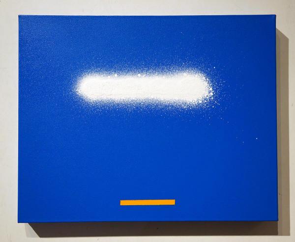 "Señor Schnu: ""Line2 - Blue"" - street art - SALZIGBerlin Galerie"