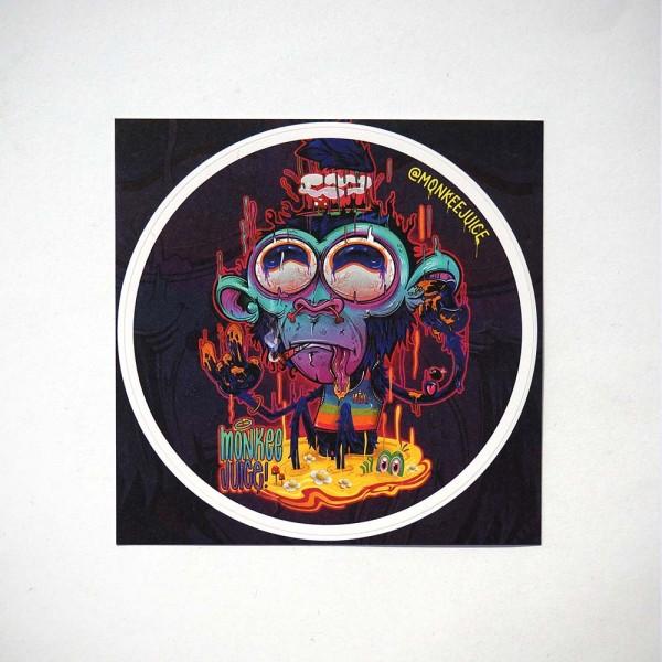 Monkeejuice - Monkee - Sticker @salzigberlin