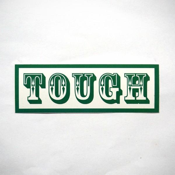 """Tough: """"Green """" - Sticker - SALZIG Berlin"""