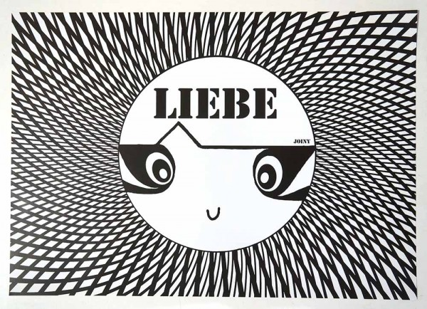 "Joiny: ""Liebe""  - Digital print on paper - SALZIG"