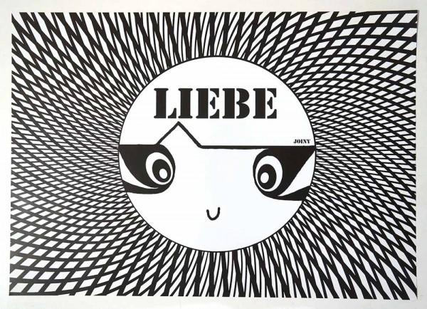 "Joiny: ""Liebe"" - Digital print on paper - SALZIG"