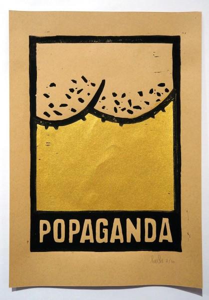 """Stefan Hoch: """"Popaganda - Gold"""" - SALZIG - Berlin"""