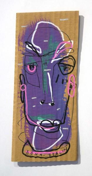 Bona Berlin: Head V  - Cardboard, SALZIG Berlin
