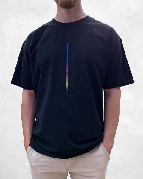 CMYK Dots: Ahorn - T-Shirt - Oversize-Passform - salzig berlin