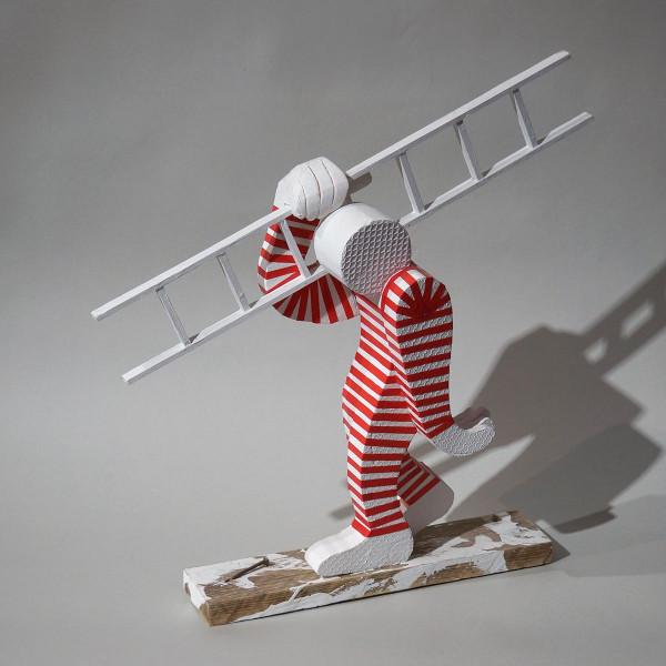Styro: Leiter - SALZIGBerlin Streetart Gallery