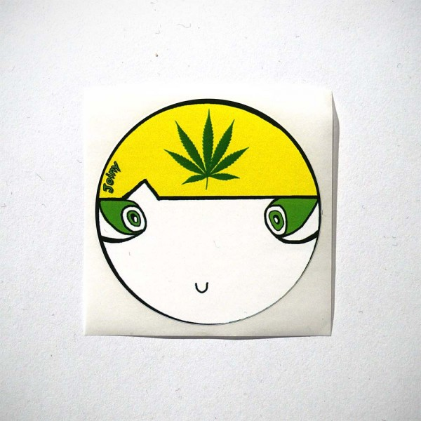 Joiny - Weed - Sticker @salzigberlin