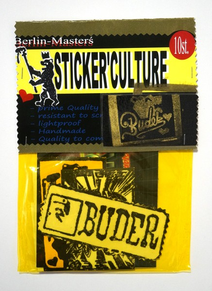Buder: Stickerpack - 15 x 21 cm - 10 Stickers - Collectors Edition
