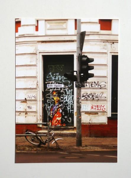 Brille: Hipster - Door - Postkarte A6